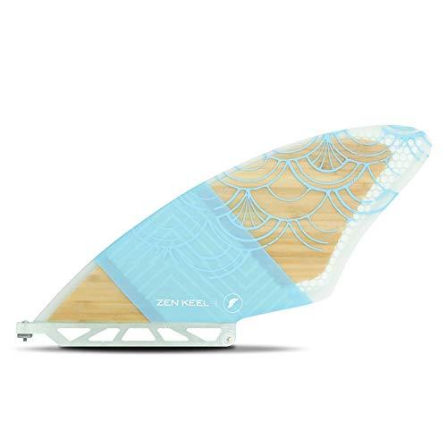 サーフィン フィン マリンスポーツ Future Fins Stand Up Paddle Board SUP Honeycomb Single Zen Bamboo Fin Mintサーフィン フィン マリンスポーツ