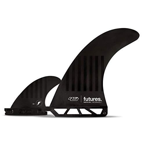 サーフィン フィン マリンスポーツ 【送料無料】Futures Hayden Shapes Compound 6 2 Plus 1 Fin 6 inch Black/stripesサーフィン フィン マリンスポーツ
