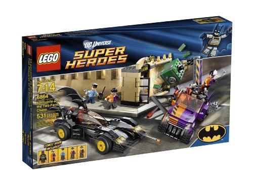 レゴ スーパーヒーローズ マーベル DCコミックス スーパーヒーローガールズ 4654651 LEGO Super Heroes Batmobile and The Two-Face Chase 6864 (Discontinued by manufacturer)レゴ スーパーヒーローズ マーベル DCコミックス スーパーヒーローガールズ 4654651