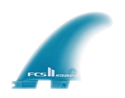 サーフィン フィン マリンスポーツ FCS II Accelerator Glass Flex Surfboard Tri Fin Set - Mediumサーフィン フィン マリンスポーツ