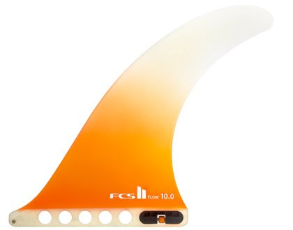 """サーフィン フィン マリンスポーツ FCS II Flow PG 11"""" - Orangeサーフィン フィン マリンスポーツ"""