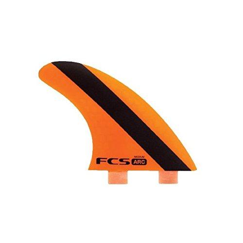 サーフィン フィン マリンスポーツ FCS ARC (AM-2 Version 2) Surfboard Tri Fin Set - Mediumサーフィン フィン マリンスポーツ