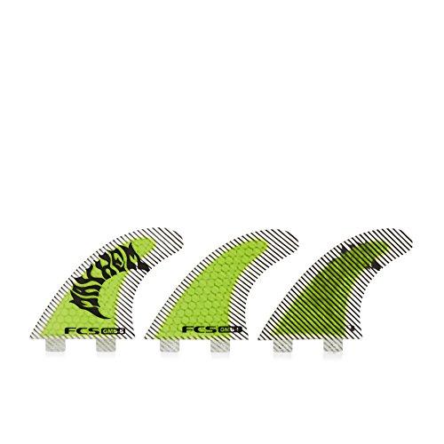 サーフィン フィン マリンスポーツ 1171-159-00-R FCS GMB Performance Core Surfboard Tri Fin Set - Fluoroサーフィン フィン マリンスポーツ 1171-159-00-R