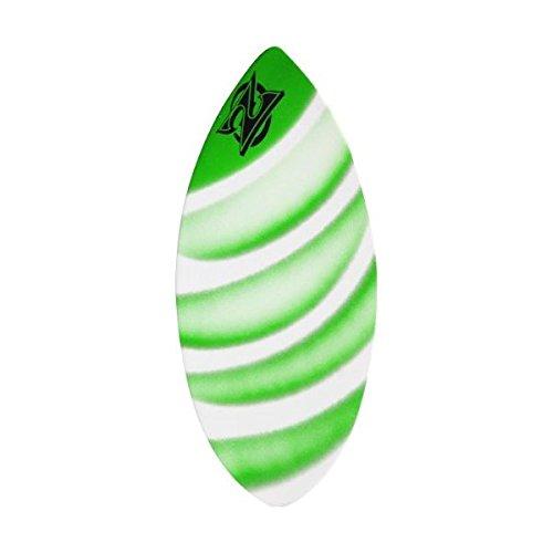 サーフィン スキムボード マリンスポーツ Zap Wedge Large Skimboard - 49x19.75 Assorted Greenサーフィン スキムボード マリンスポーツ