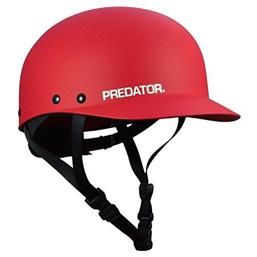 ウォーターヘルメット 安全 マリンスポーツ サーフィン ウェイクボード Predator Shiznit Kayak Helmet-Red-L/XLウォーターヘルメット 安全 マリンスポーツ サーフィン ウェイクボード