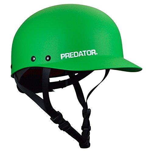 ウォーターヘルメット 安全 マリンスポーツ サーフィン ウェイクボード Predator Shiznit Kayak Helmet-Green-XS/Mウォーターヘルメット 安全 マリンスポーツ サーフィン ウェイクボード