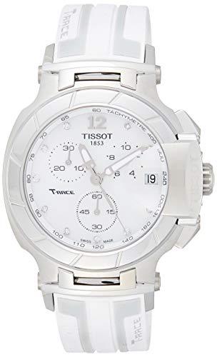 ティソ 腕時計 メンズ T048.417.17.116.00 【送料無料】Tissot T0484171711600 T-Racechronograph Rubber Ladies Watchティソ 腕時計 メンズ T048.417.17.116.00