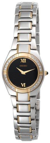 セイコー 腕時計 レディース SUJF10 【送料無料】Seiko Women's SUJF10 Diamond Two-Tone Watchセイコー 腕時計 レディース SUJF10