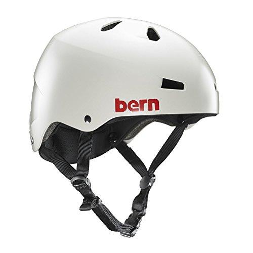 ウォーターヘルメット 安全 マリンスポーツ サーフィン ウェイクボード VM2 Bern Macon Hard Hat, Satin Light Grey, Largeウォーターヘルメット 安全 マリンスポーツ サーフィン ウェイクボード VM2
