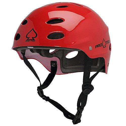 ウォーターヘルメット 安全 マリンスポーツ サーフィン ウェイクボード 200004602 Pro-Tec Ace Water Helmet, Gloss Red, XSウォーターヘルメット 安全 マリンスポーツ サーフィン ウェイクボード 200004602