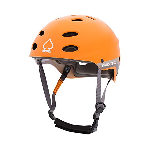 ウォーターヘルメット 安全 マリンスポーツ サーフィン ウェイクボード 200005806 【送料無料】Pro-Tec - Ace Water Helmet, Satin Orange Retro, XLウォーターヘルメット 安全 マリンスポーツ サーフィン ウェイクボード 200005806