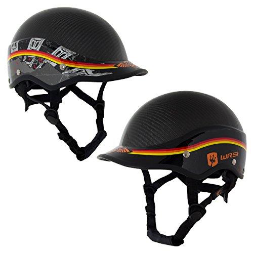 ウォーターヘルメット 安全 マリンスポーツ サーフィン ウェイクボード NRS WRSI Trident Composite Kayak Helmet-Black-S/Mウォーターヘルメット 安全 マリンスポーツ サーフィン ウェイクボード NRS