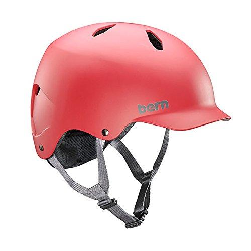 ウォーターヘルメット 安全 マリンスポーツ サーフィン ウェイクボード BB03EMRED22 Bern 2017 Bandito Summer EPS Matte Red - S/Mウォーターヘルメット 安全 マリンスポーツ サーフィン ウェイクボード BB03EMRED22