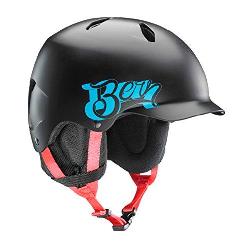 ウォーターヘルメット 安全 マリンスポーツ サーフィン ウェイクボード Bern Bern Bandito Youth Snow Helmet Satin Black Baseball S/Mウォーターヘルメット 安全 マリンスポーツ サーフィン ウェイクボード Bern
