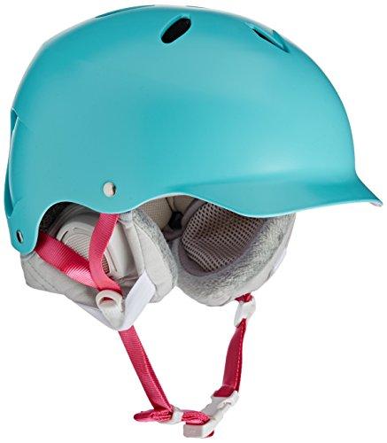 ウォーターヘルメット 安全 マリンスポーツ サーフィン ウェイクボード SW05ESAQU11 【送料無料】Bern Lenox (Satin Aqua, XS/S)ウォーターヘルメット 安全 マリンスポーツ サーフィン ウェイクボード SW05ESAQU11