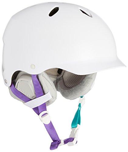 ウォーターヘルメット 安全 マリンスポーツ サーフィン ウェイクボード SW05ESWHT11 Bern Lenox Snowboard Helmet Womens (Satin White, XS/S)ウォーターヘルメット 安全 マリンスポーツ サーフィン ウェイクボード SW05ESWHT11
