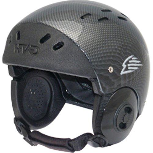 ウォーターヘルメット 安全 マリンスポーツ サーフィン ウェイクボード Gath Surf Convertible Helmet - Carbon - Lウォーターヘルメット 安全 マリンスポーツ サーフィン ウェイクボード