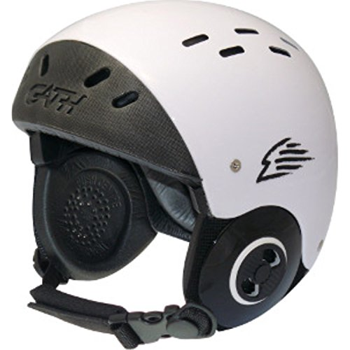 ウォーターヘルメット 安全 マリンスポーツ サーフィン ウェイクボード Gath Surf Convertible Helmet - White - Sウォーターヘルメット 安全 マリンスポーツ サーフィン ウェイクボード