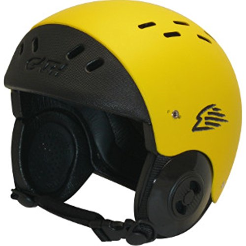 ウォーターヘルメット 安全 マリンスポーツ サーフィン ウェイクボード Gath Surf Convertible Helmet - Yellow - Mウォーターヘルメット 安全 マリンスポーツ サーフィン ウェイクボード