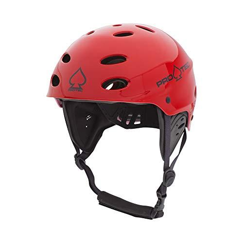 ウォーターヘルメット 安全 マリンスポーツ サーフィン ウェイクボード 200005105 【送料無料】Pro-Tec Rescue Ace Water, Gloss Red, Lウォーターヘルメット 安全 マリンスポーツ サーフィン ウェイクボード 200005105