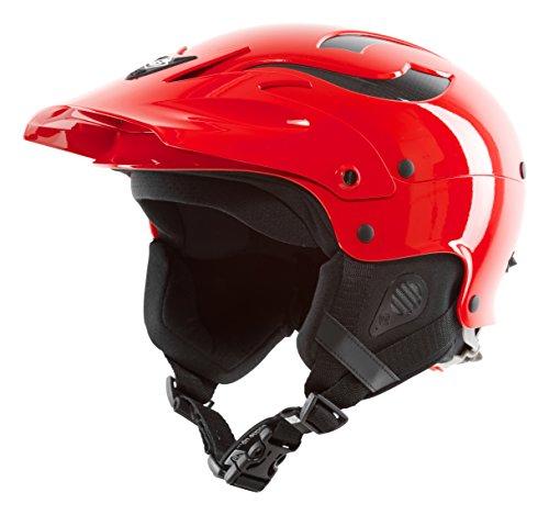 ウォーターヘルメット 安全 マリンスポーツ サーフィン ウェイクボード 845027 Sweet Protection Rocker Full Face Helmet - Scorch Red Medium/Largeウォーターヘルメット 安全 マリンスポーツ サーフィン ウェイクボード 845027