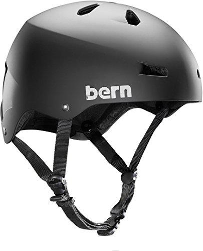 ウォーターヘルメット 安全 マリンスポーツ サーフィン ウェイクボード Bern 2017 Men's Macon Summer H2O Water Sports Helmet w/Brock Foam (Matte Black - S)ウォーターヘルメット 安全 マリンスポーツ サーフィン ウェイクボード