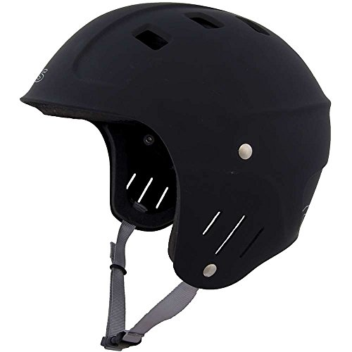 ウォーターヘルメット 安全 マリンスポーツ サーフィン ウェイクボード NRS 【送料無料】NRS Chaos Helmet - Full Cut Black XSウォーターヘルメット 安全 マリンスポーツ サーフィン ウェイクボード NRS