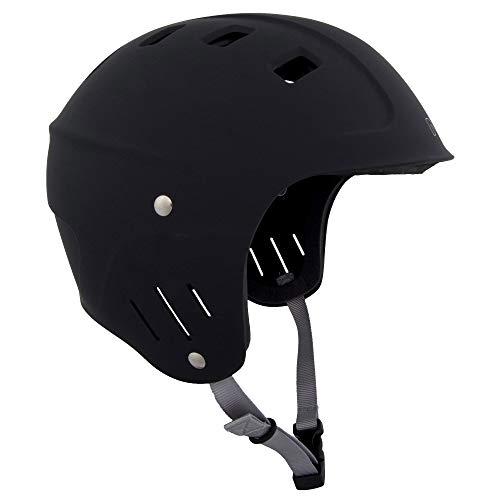 ウォーターヘルメット 安全 マリンスポーツ サーフィン ウェイクボード NRS NRS Chaos Helmet - Full Cut Black Smallウォーターヘルメット 安全 マリンスポーツ サーフィン ウェイクボード NRS