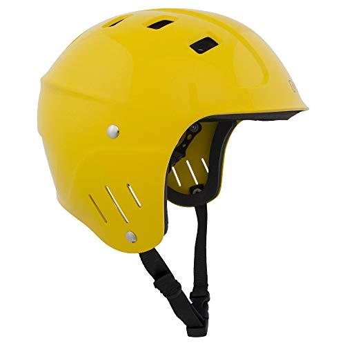 ウォーターヘルメット 安全 マリンスポーツ サーフィン ウェイクボード NRS NRS Chaos Helmet - Full Cut Yellow XLウォーターヘルメット 安全 マリンスポーツ サーフィン ウェイクボード NRS