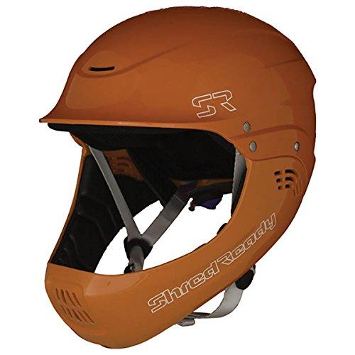 ウォーターヘルメット 安全 マリンスポーツ サーフィン ウェイクボード Shred Ready Shred Ready Standard Fullface Helmet - Safety Orangeウォーターヘルメット 安全 マリンスポーツ サーフィン ウェイクボード Shred Ready