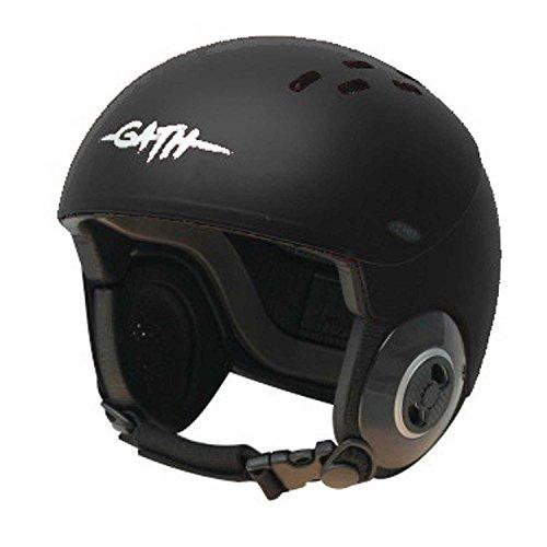 ウォーターヘルメット 安全 マリンスポーツ サーフィン ウェイクボード Gath Gedi Helmet with Peak - Black - Sウォーターヘルメット 安全 マリンスポーツ サーフィン ウェイクボード