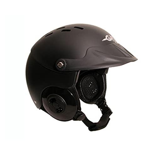 ウォーターヘルメット 安全 マリンスポーツ サーフィン ウェイクボード Gath Gedi Helmet with Peak - Black - XLウォーターヘルメット 安全 マリンスポーツ サーフィン ウェイクボード