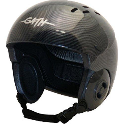 ウォーターヘルメット 安全 マリンスポーツ サーフィン ウェイクボード Gath Gedi Helmet with Peak - Carbon - Sウォーターヘルメット 安全 マリンスポーツ サーフィン ウェイクボード