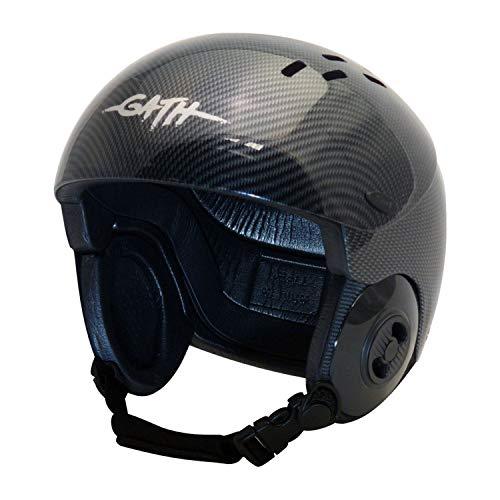 ウォーターヘルメット 安全 マリンスポーツ サーフィン ウェイクボード Gath Gedi Helmet with Peak - Carbon - Lウォーターヘルメット 安全 マリンスポーツ サーフィン ウェイクボード