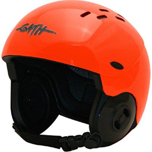 ウォーターヘルメット 安全 マリンスポーツ サーフィン ウェイクボード Gath Gedi Helmet with Peak - Orange - Lウォーターヘルメット 安全 マリンスポーツ サーフィン ウェイクボード