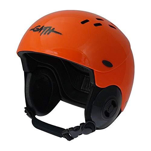 ウォーターヘルメット 安全 マリンスポーツ サーフィン ウェイクボード Gath Gedi Helmet with Peak - Orange - 2XLウォーターヘルメット 安全 マリンスポーツ サーフィン ウェイクボード
