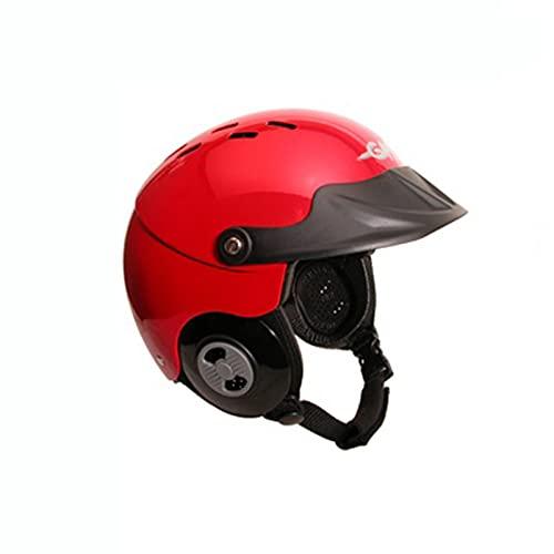 ウォーターヘルメット 安全 マリンスポーツ サーフィン ウェイクボード 【送料無料】Gath Gedi Helmet with Peak - Red - XLウォーターヘルメット 安全 マリンスポーツ サーフィン ウェイクボード