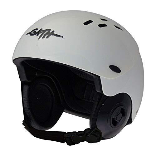 ウォーターヘルメット 安全 マリンスポーツ サーフィン ウェイクボード Gath Gedi Helmet with Peak - White - Lウォーターヘルメット 安全 マリンスポーツ サーフィン ウェイクボード