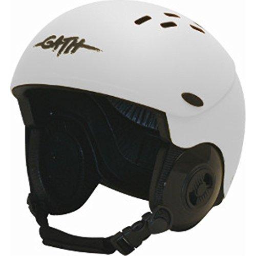 ウォーターヘルメット 安全 マリンスポーツ サーフィン ウェイクボード 【送料無料】Gath Gedi Helmet with Peak - White - 2XLウォーターヘルメット 安全 マリンスポーツ サーフィン ウェイクボード