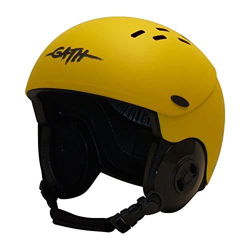 ウォーターヘルメット 安全 マリンスポーツ サーフィン ウェイクボード 【送料無料】Gath Gedi Helmet with Peak - Yellow - 3XLウォーターヘルメット 安全 マリンスポーツ サーフィン ウェイクボード