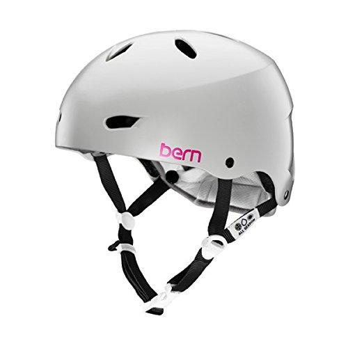 ウォーターヘルメット 安全 マリンスポーツ サーフィン ウェイクボード 【送料無料】Bern Brighton H2O Helmet Matte Grey Lウォーターヘルメット 安全 マリンスポーツ サーフィン ウェイクボード