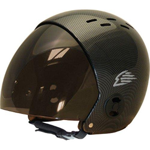 ウォーターヘルメット 安全 マリンスポーツ サーフィン ウェイクボード 【送料無料】Gath Helmet with Retractable Visor - Carbon - XSウォーターヘルメット 安全 マリンスポーツ サーフィン ウェイクボード