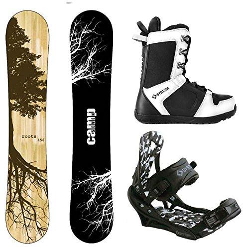 スノーボード ウィンタースポーツ キャンプセブン 2017年モデル2018年モデル多数 Camp Seven Roots CRC and APX Complete Men's Snowboard Package (159 cm, Boot Size 13)スノーボード ウィンタースポーツ キャンプセブン 2017年モデル2018年モデル多数