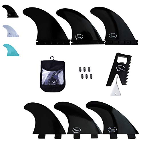 サーフィン フィン マリンスポーツ 【送料無料】Ho Stevie! Fiberglass Reinforced Polymer Surfboard Fins - Thruster (3 Fins) FCS or Futures Sizes, Choose Color (Black, Futures)サーフィン フィン マリンスポーツ