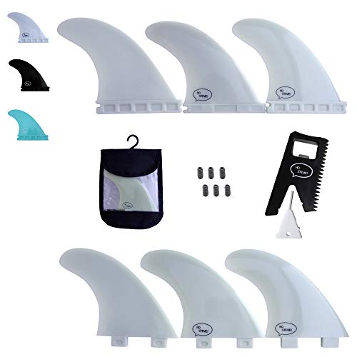 サーフィン フィン マリンスポーツ 【送料無料】Ho Stevie! Fiberglass Reinforced Polymer Surfboard Fins - Thruster (3 Fins) FCS or Futures Sizes, Choose Color (White, Futures)サーフィン フィン マリンスポーツ