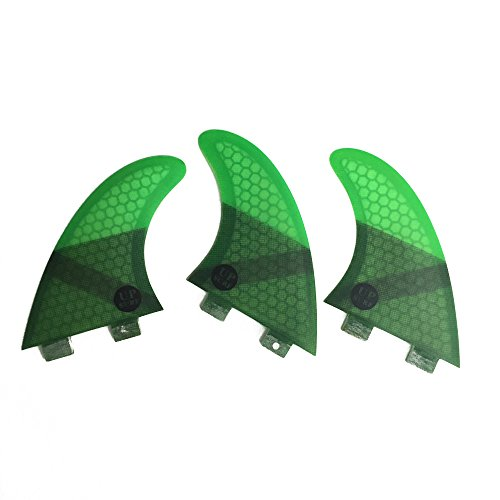 サーフィン フィン マリンスポーツ 【送料無料】UPSURF Core Carbon Surboard Fins G5 Medium Size FCSサーフィン フィン マリンスポーツ