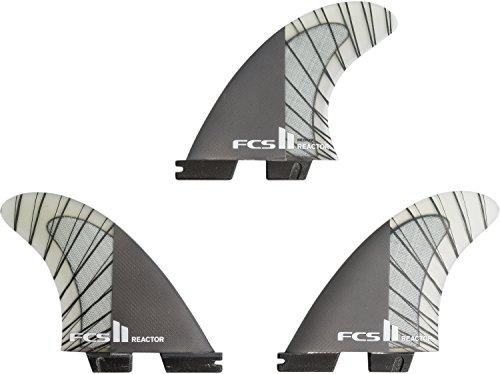 サーフィン フィン マリンスポーツ REACTOR FCS II Reactor Performance Core Thruster Fin Medium Charcoalサーフィン フィン マリンスポーツ REACTOR