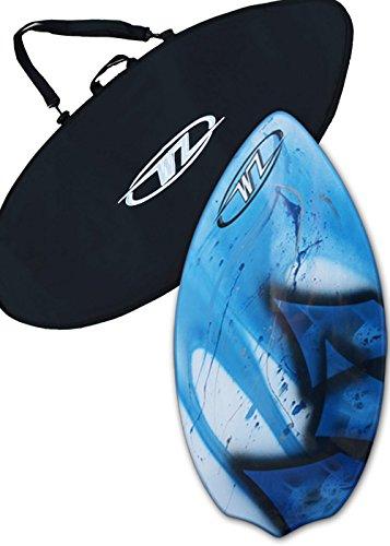 サーフィン スキムボード マリンスポーツ Skimboard Package for Beginners - Blue - 40.5