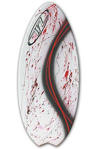 サーフィン スキムボード マリンスポーツ Skimboard Package riders up to 200 lbs - Red - 48