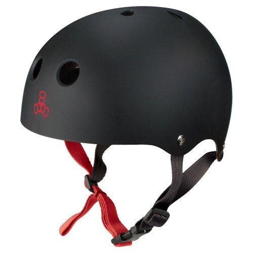 ウォーターヘルメット 安全 マリンスポーツ サーフィン ウェイクボード 0348 Triple Eight Water Halo Helmet, Black Rubber, Largeウォーターヘルメット 安全 マリンスポーツ サーフィン ウェイクボード 0348